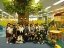 一年級學生參觀玩具圖書館