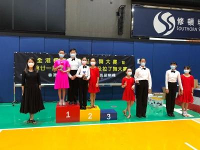 第廿一屆區際校際標準舞及拉丁舞大賽