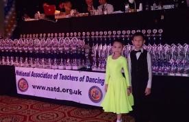 英國黑池舉行英國NATD標準舞及拉丁舞大賽