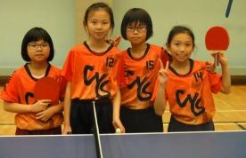 青衣區小學校際乒乓球賽