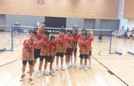 青衣區小學校際羽毛球比賽